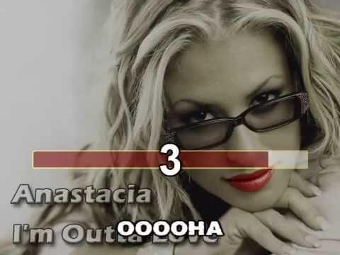 Anastacia - I'm Outta Love (karaoke fair use)