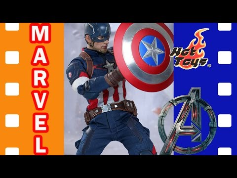 Фигурка Капитан Америка | Avengers: Age Of Ultron – Captain America Hot Toys
