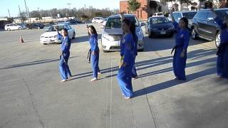 hey mickey choreography with linh