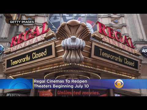 Regal To Reopen Theaters Beginning July 10