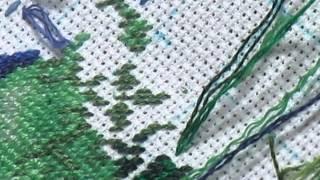 Процесс вышивки полукрестом - петитом + закрепление нитки в конце(Способу закрепления ниточки без хвостика я научилась у Светланы Леввченко http://www.youtube.com/channel/UCZf6sVx0o3bP_uBAsTSGOMQ?spf..., 2015-02-21T16:02:13.000Z)