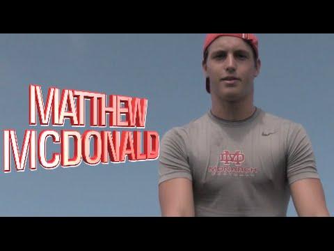 QB Matthew McDonald