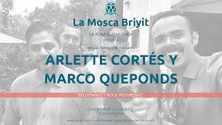 Música en vivo y BellyDance en La Mosca Briyit con Marco Queponds y Arlette Cortés.