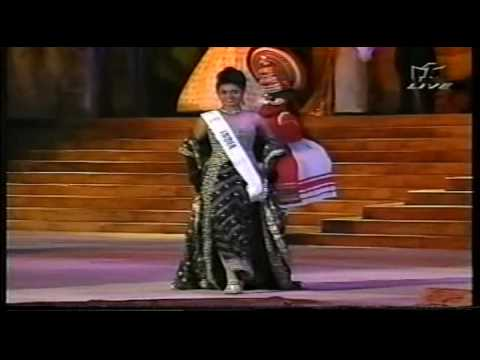 MISS WORLD 1996 Evening Gown