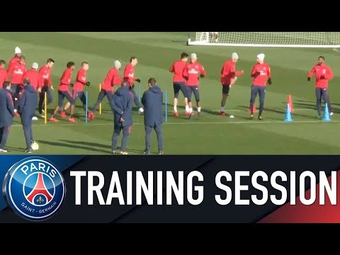 Paris Saint-Germain Training Session AS MONACO vs PARIS SAINT-GERMAIN