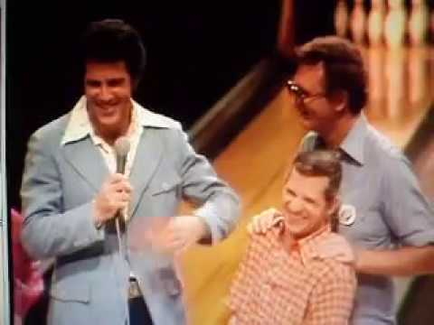 Celebrity Bowling Jed Allan cusses Whoops! Did that go out on the air?