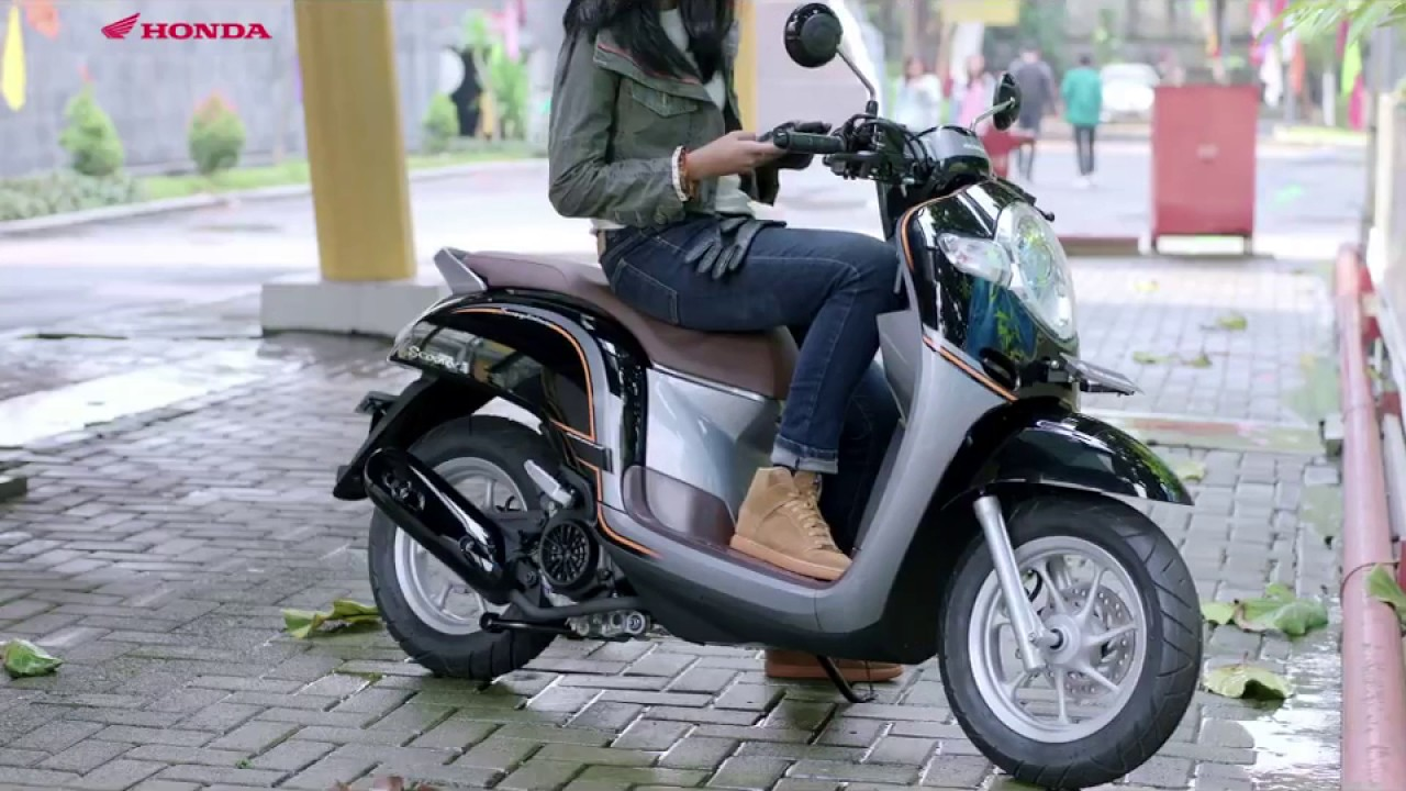 Honda All New Scoopy eSP 110 facelift 2017 - YouTube