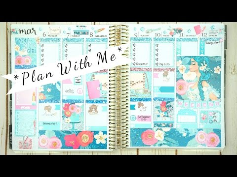 Plan With Me / March 6-12 / ft. Glam Planner (ECLP)