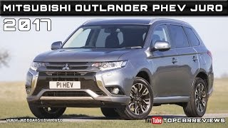 2017 Mitsubishi Outlander PHEV Juro Review Rendered Price Specs Release Date