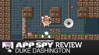 Duke Dashington | iOS iPhone / iPad Gameplay Review - AppSpy.com