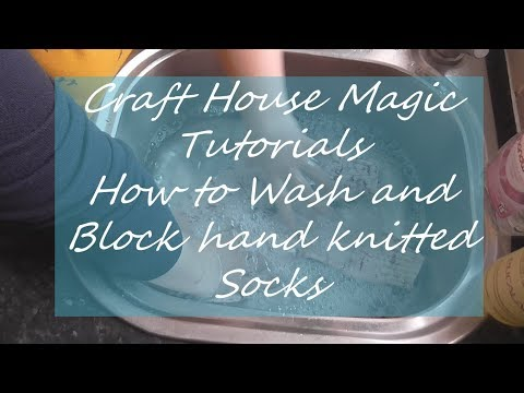 How To Hand Wash Wool Socks Youtube