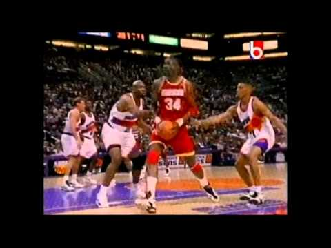 1995 NBA Playoffs: Houston Rockets vs Phoenix Suns
