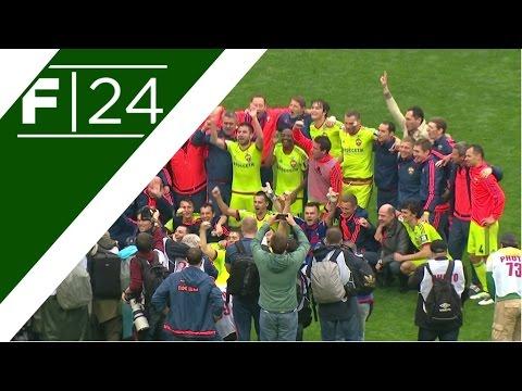 El CSKA Moscú se consagró campeón y el Dínamo se fue al descenso