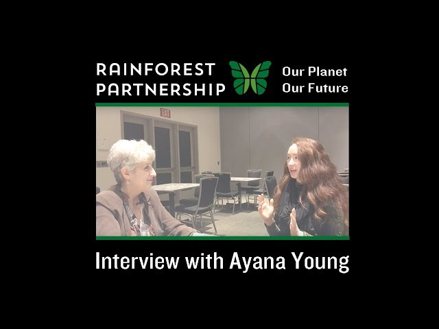 Our Planet. Our Future. Interview with Films for the Forest Filmmaker, Ayana Young at SXSW