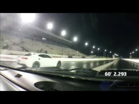 Drag Racing 04 Jeep Grand Cherokee with 4 7 at Las Vegas Motor Speedway