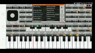 terbeluh nuri nuri/lagu karo/versi pop aplikasi organ HP