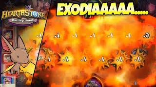 EXODIA....SORTA OBLITERATE | Firebat Hearthstone Battlegrounds