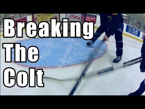 Breaking the Unbreakable Stick  Colt Hockey Stick  Update