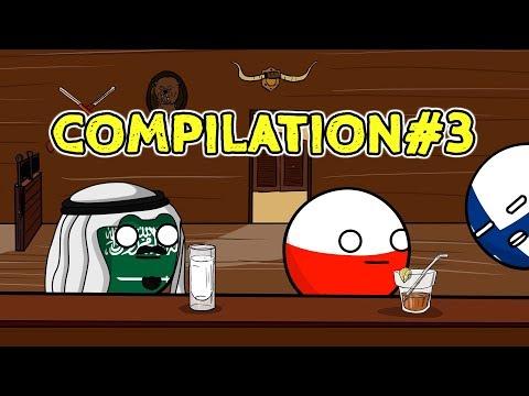 Countryballs Compilation - #3