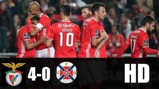 Benfica vs Belenenses 4-0 RESUMEN COMPLETO 2017 HD