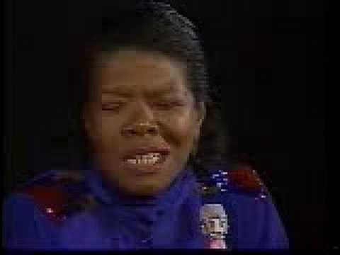 Maya Angelou, Pt 1/3 - YouTube
