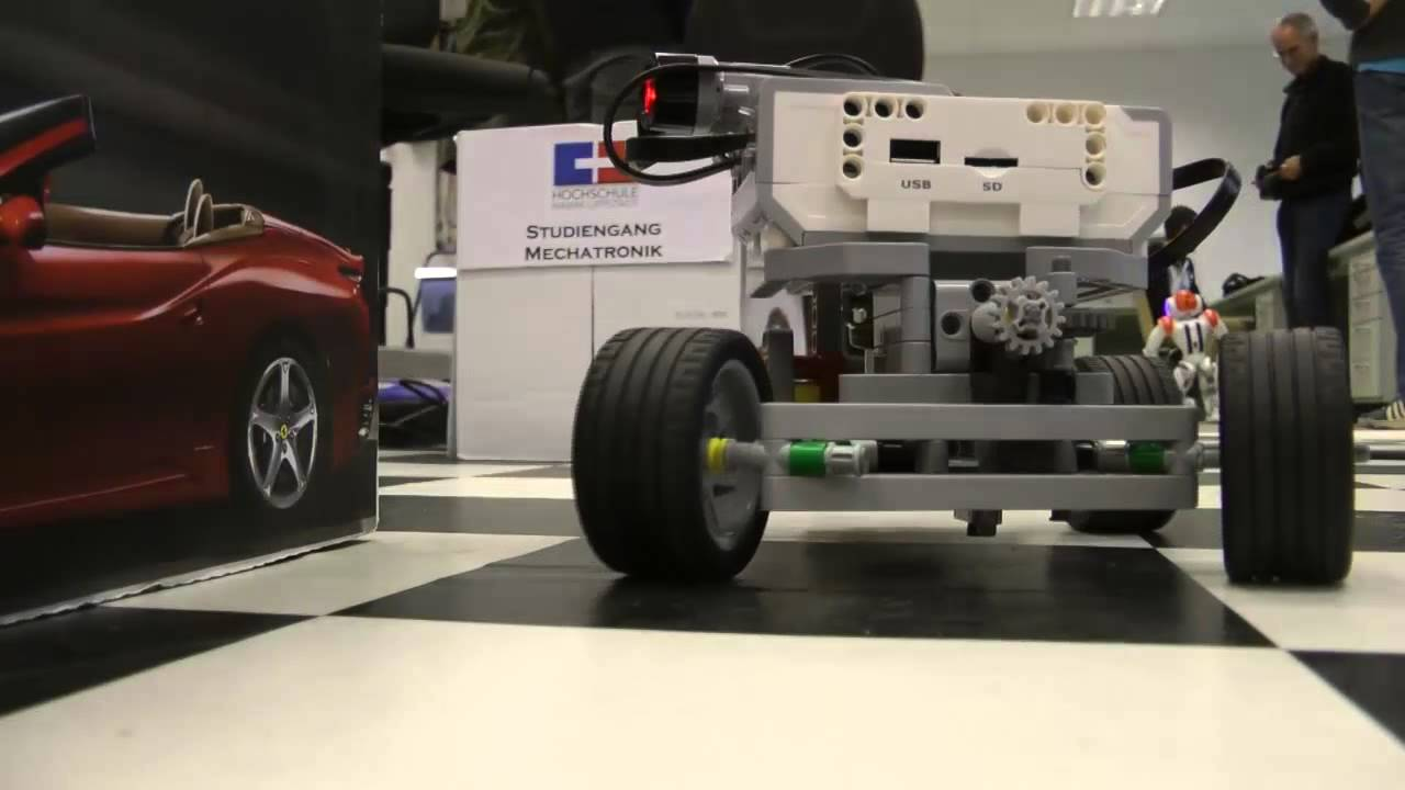 autonomes einparken mit lego mindstorms ev3 youtube. Black Bedroom Furniture Sets. Home Design Ideas