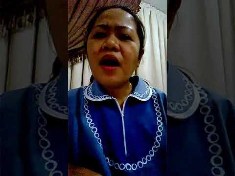 """OFW Nanny sing """"Sayang"""" Karaoke by Claire Dela Fuente"""