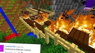 HO RISCHIATO DI FAR BRUCIARE IL MIO MONDO - Minecraft ITA - KendyCraft #14