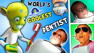 WORLD'S COOLEST DENTIST!! Outer Space Cavities Search Stormy Tooth Wisdom FUNnel Family Vlog