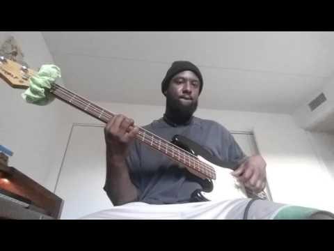 Sex room Ludacris ft trey songz (bass cover )