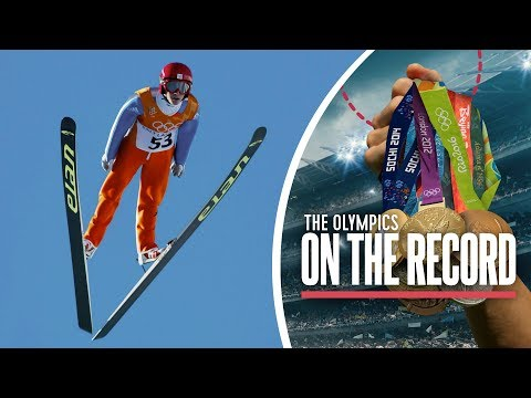 Simon Ammann Ski Jumping Sweeps Salt Lake City 2002 | Olympics on the Record
