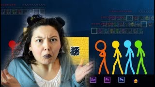 Animation vs. Minecraft - Episode 2 AVM Shorts Анимация против Майнкрафта | Реакция на Alan Becker