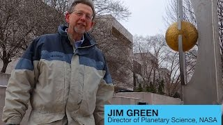 Jim Green Walks to Pluto