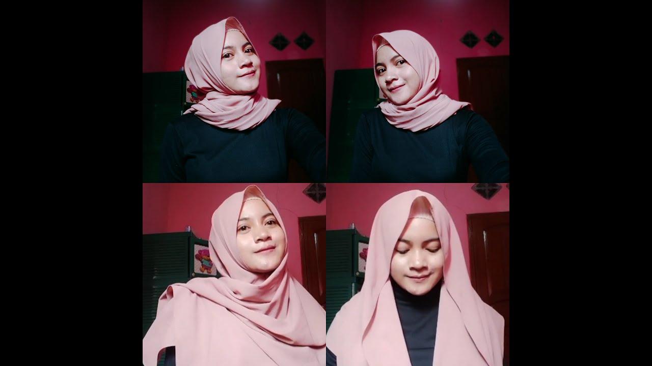 Tutorial memakai hijab yg simpel - YouTube