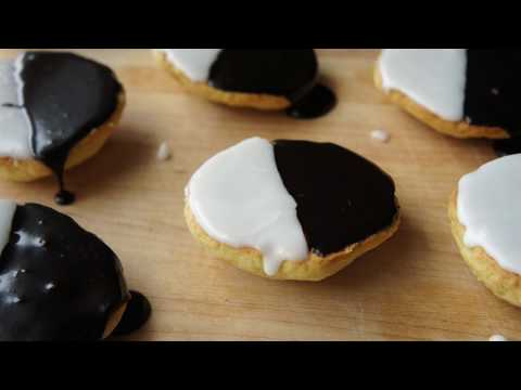 How To Make Black And White Cookies