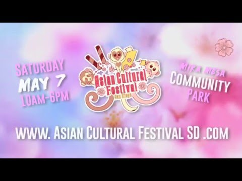 7th Annual Asian Cultural Festival of San Diego - Commercial