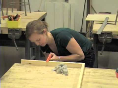 Building painting surfaces PART 1: How to build a cradled wood panel