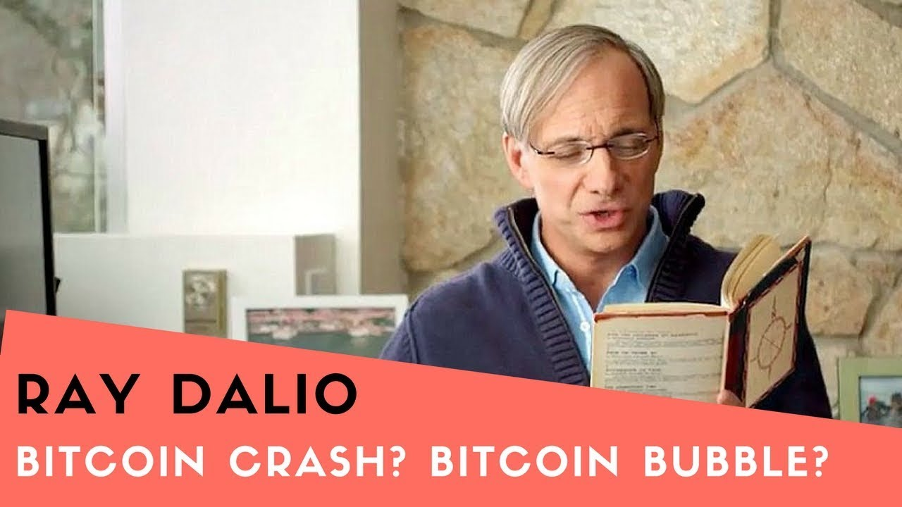 "RAY DALIO - ""Bitcoin is a Bubble!!!"" Sept 19, 2017"
