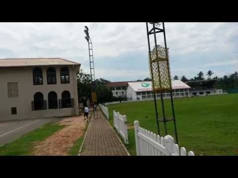 Football at St Thomas' College, Mount Lavinia, Sri Lanka