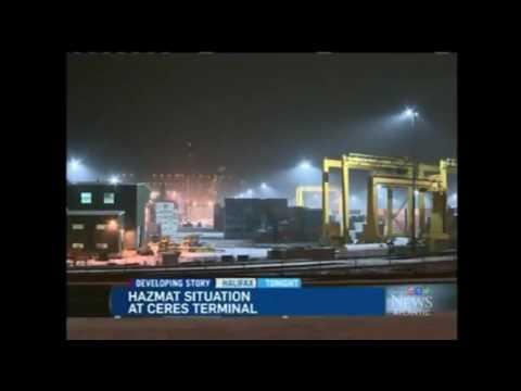 Nuclear Watch  Canada Radioactive leak at Halifax shipping yard 03 13 2014
