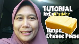 Cara Membuat Keju Cheddar tanpa Cheese Press