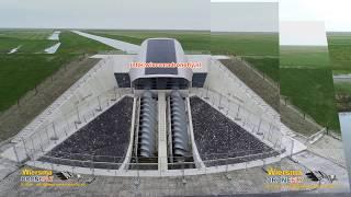 Project Vijfhuizen Gemaal DE HEINING Wetterskip Fryslan Marrum