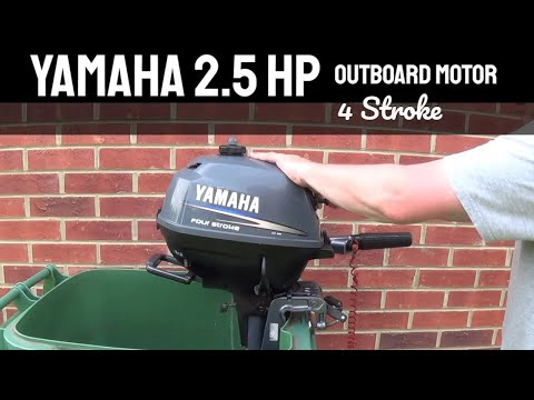 Leftover 2010 2 5 hp 4 stroke mercury outboard first start for Yamaha outboard break in procedure