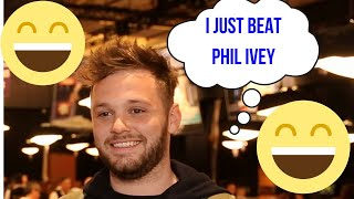 Daniel McAulay: Beating Phil Ivey in $10,000 Heads-Up Championship