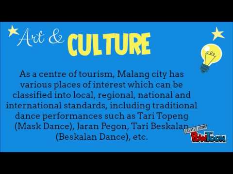 History of Malang-Culture and Art