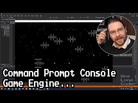 Command Prompt Console Game Engine