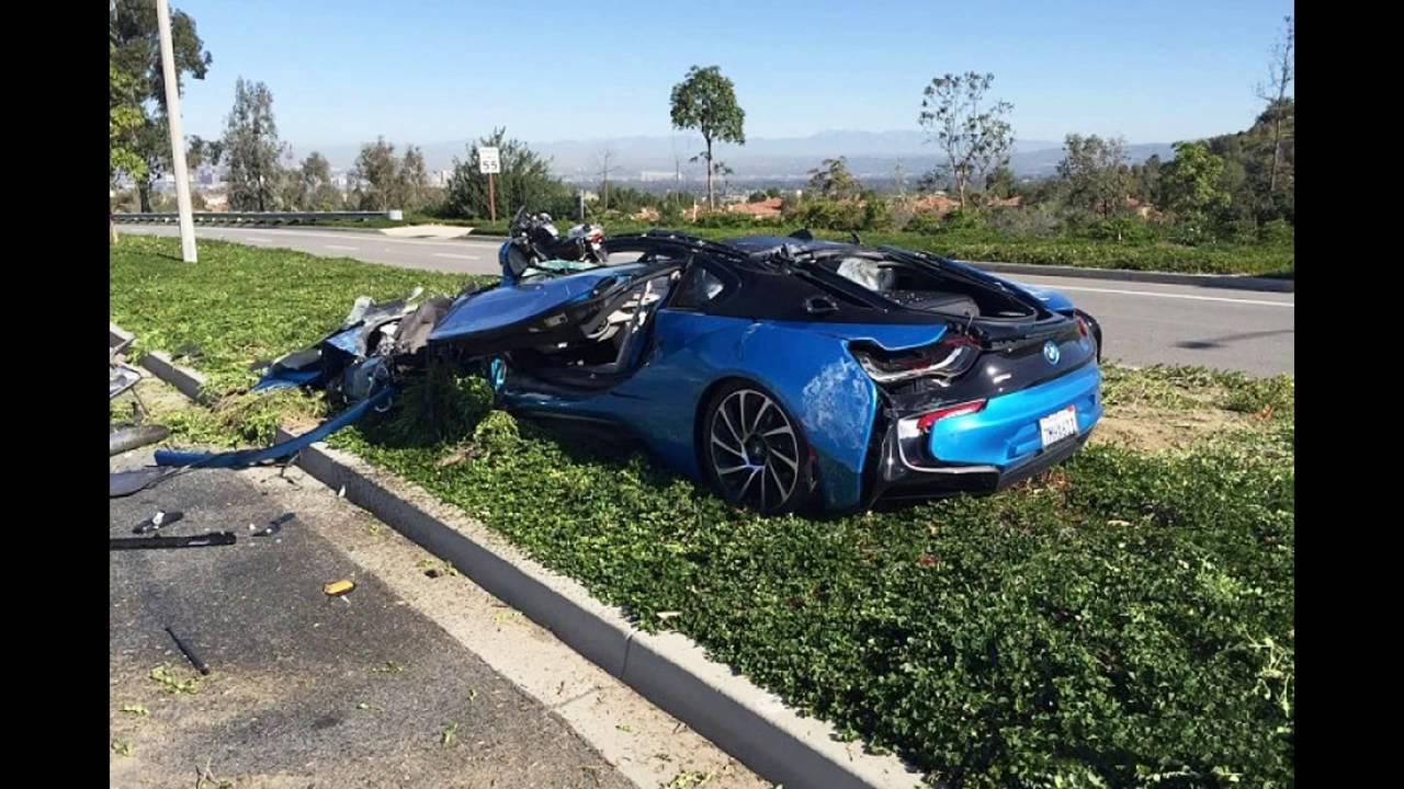 Latest Car Accident Of Bmw I8 Road Crash Compilation Traffic