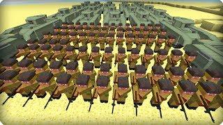 Вторая Мировая Война [ДЕНЬ 1] Call of duty в Майнкрафт! Война в Майнкрафт! - (Minecraft - Сериал)