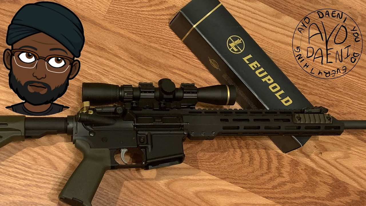Leupold unboxing and review