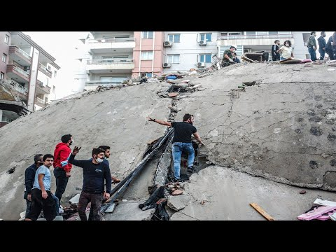 بسبب الزلزال.. فيضانات تجتاح مناطق عدة في إزمير